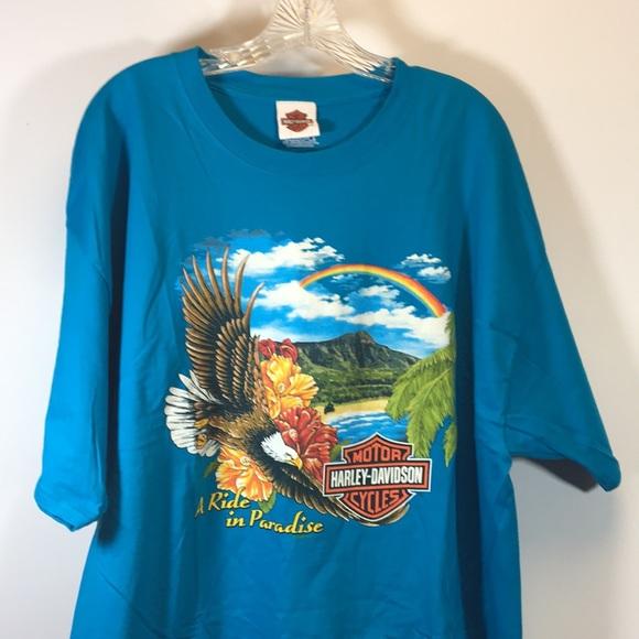 637b6207df84 Harley-Davidson Shirts | Harley Davidson Hawaii Maui Tee Shirt Eagle ...